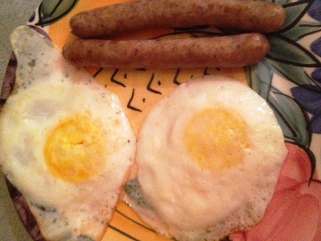 Eggs and Sausage