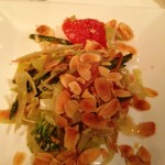 Fennel, brocoli rabe and grapefruit salad