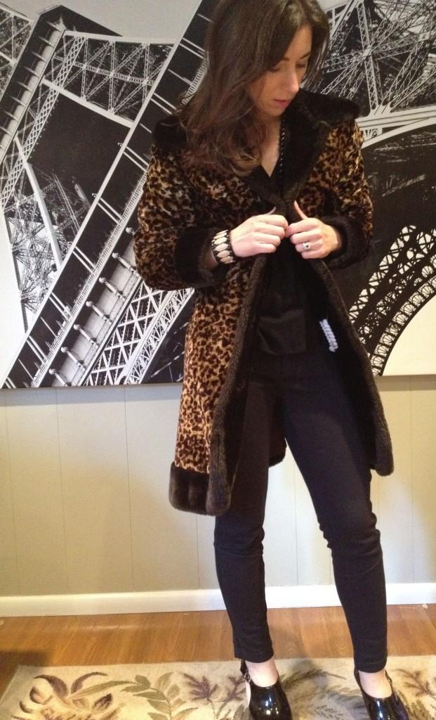 Globetrotter Pant and Leopard Coat