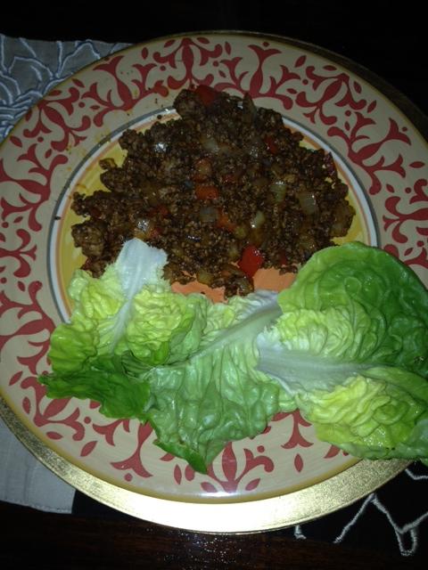 Taco Lettuce Rolls