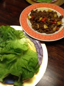 Taco Meat & Wrap