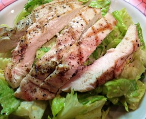 Fineshed Salad2 300x245 Grilled Chicken Caesar Salad